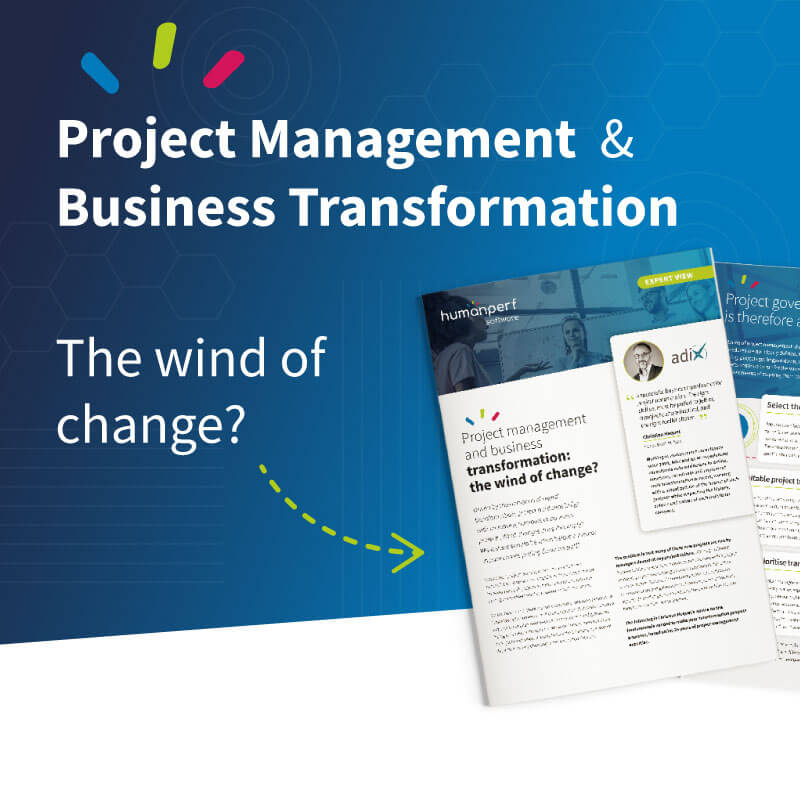Project management and business transformation: the wind of change?
