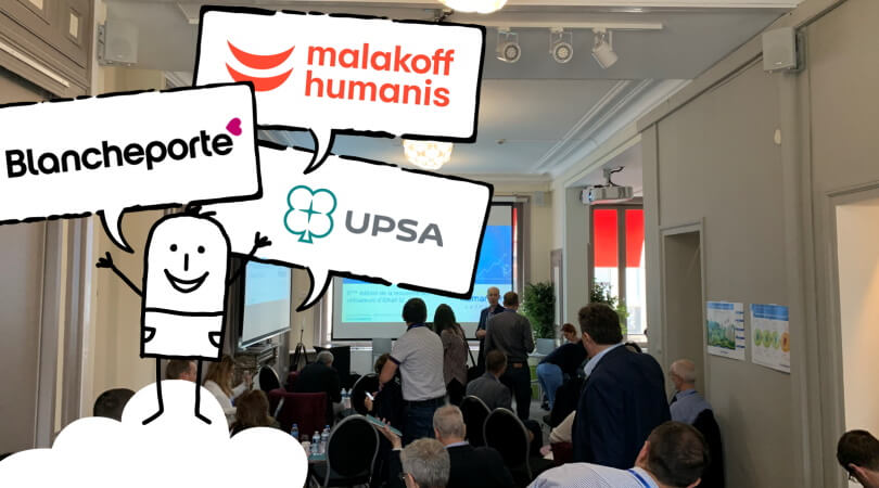 IDhall SC customer testimonials from Blancheporte, Malakoff Médéric Humanis and UPSA